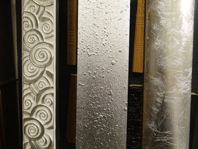 Cornici con finitura in argento