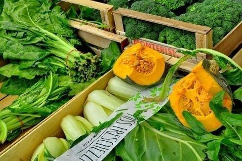 Vendita verdure al dettaglio