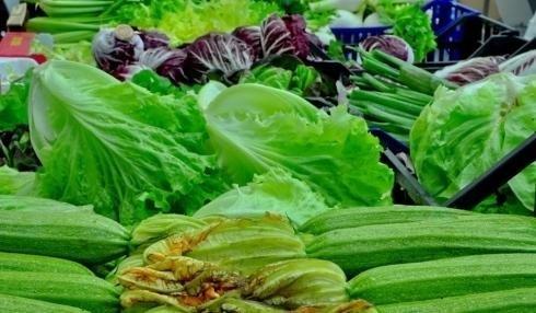 Vendita verdure all