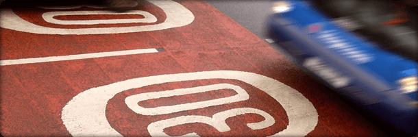 30 mph road marking