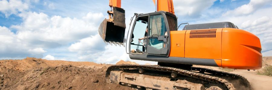 Commercial rentals such as an excavator in Anchorage, AK