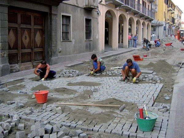 pavimentazioni diorite