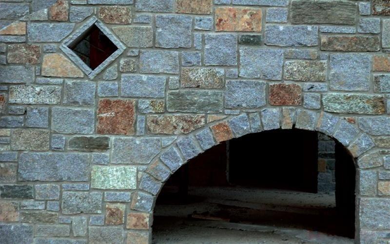 muratura pietre di diorite