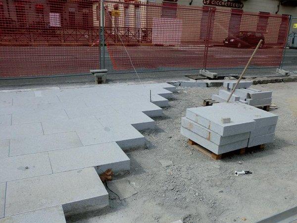 pavimentazione granigliata