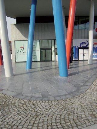 pavimentazione centro commerciale rivarolo canavese