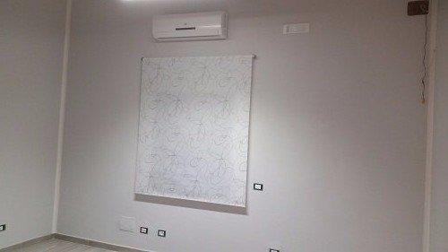 un climatizzatore a parete