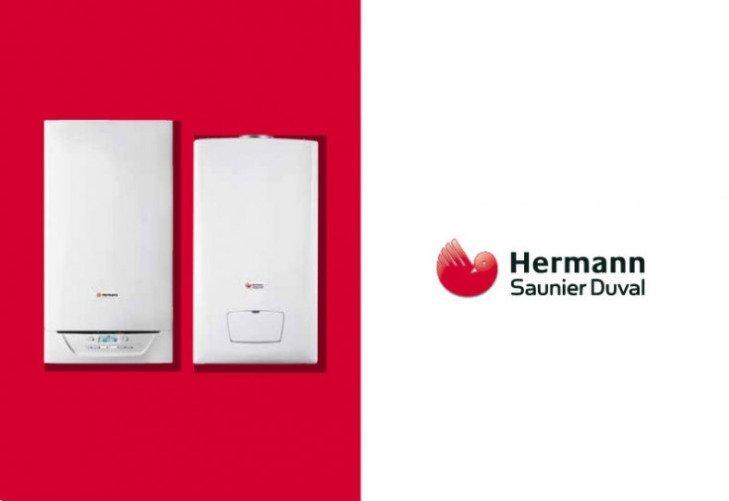 due caldaie della marca Hermann