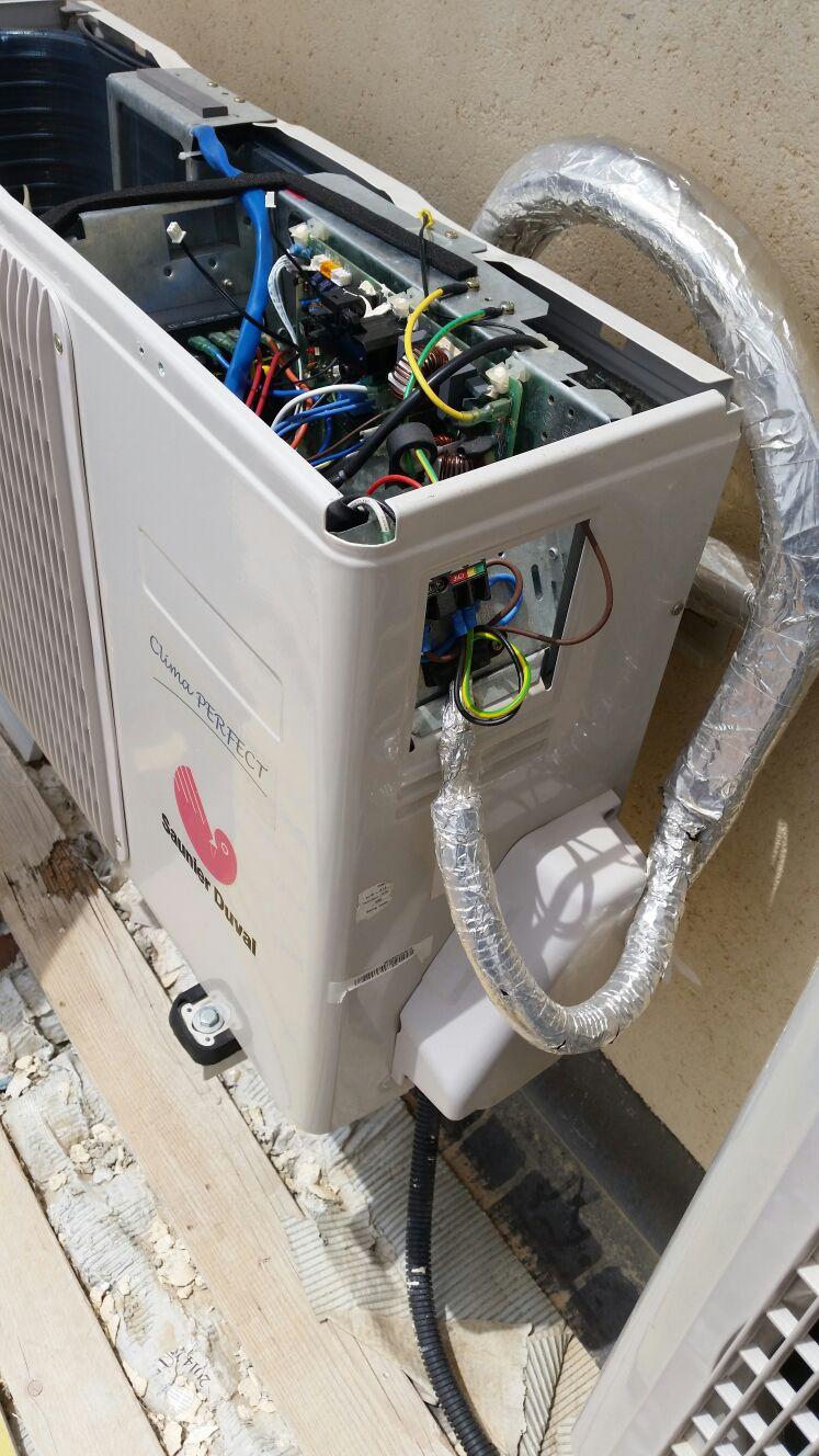 motore di un climatizzatore
