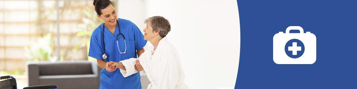 premier care pty ltd nurse helping patient