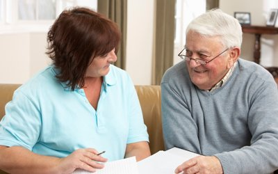 premier care pty ltd elder person getting advise