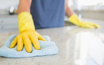 Kitchen cleaning, one of our in-home support services in Sydney