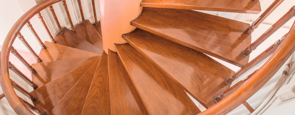 staircase after repair
