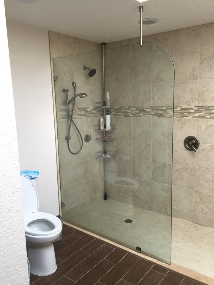 Frameless Shower Splash Guards | Superior Frameless Showers