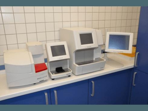 Il laboratorio dispone delle migliori attrezzature per indagini endoscopiche su animali.