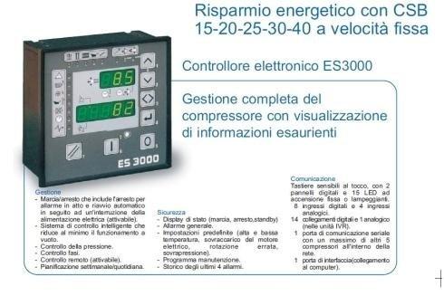ricambi manutenzione compressori rotativi a vite Lombardia