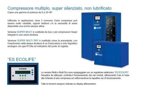 compressori oil free Ecolife