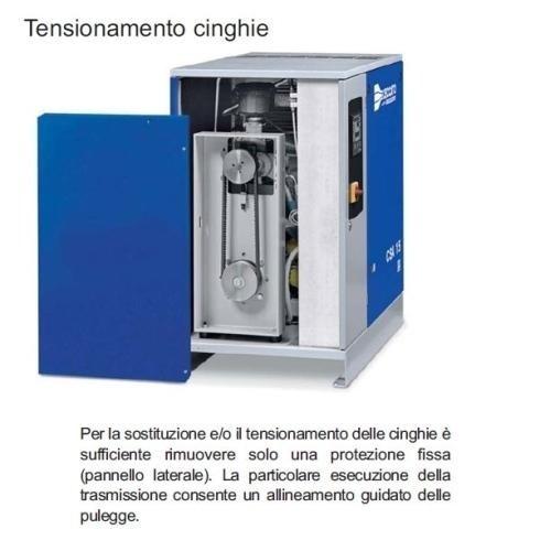 riparazione elettrocompressori rotativi a vite