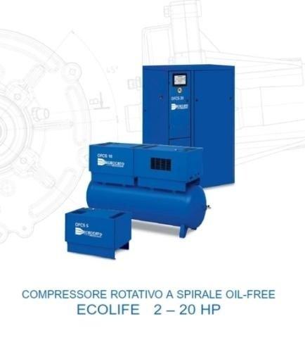 elettrocompressori oil free