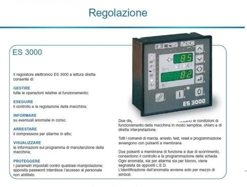 riparazione vendita Compressori rotativi a vite CSA