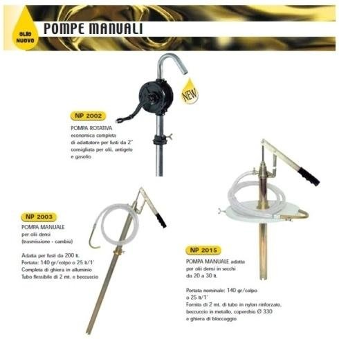 Pompe manuali Lombardia