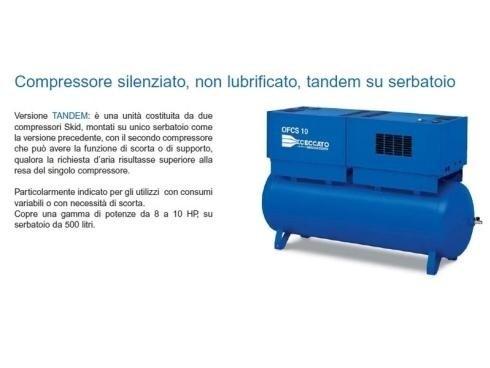 compressori oil free