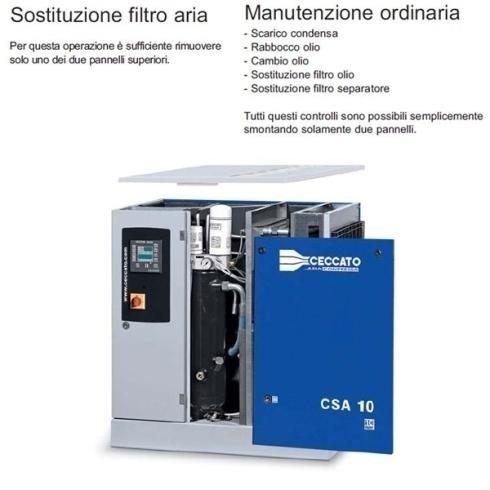 assistenza elettrocompressori rotativi a vite