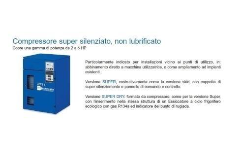 compressori oil free Ceccato
