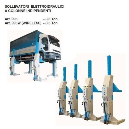 sollevatori elettroidraulici