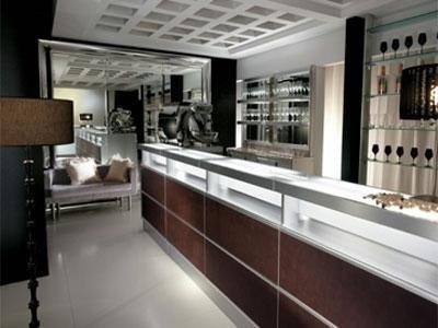 Einrichtung moderner Bars