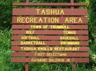 Trumbull Recreation Area Sign