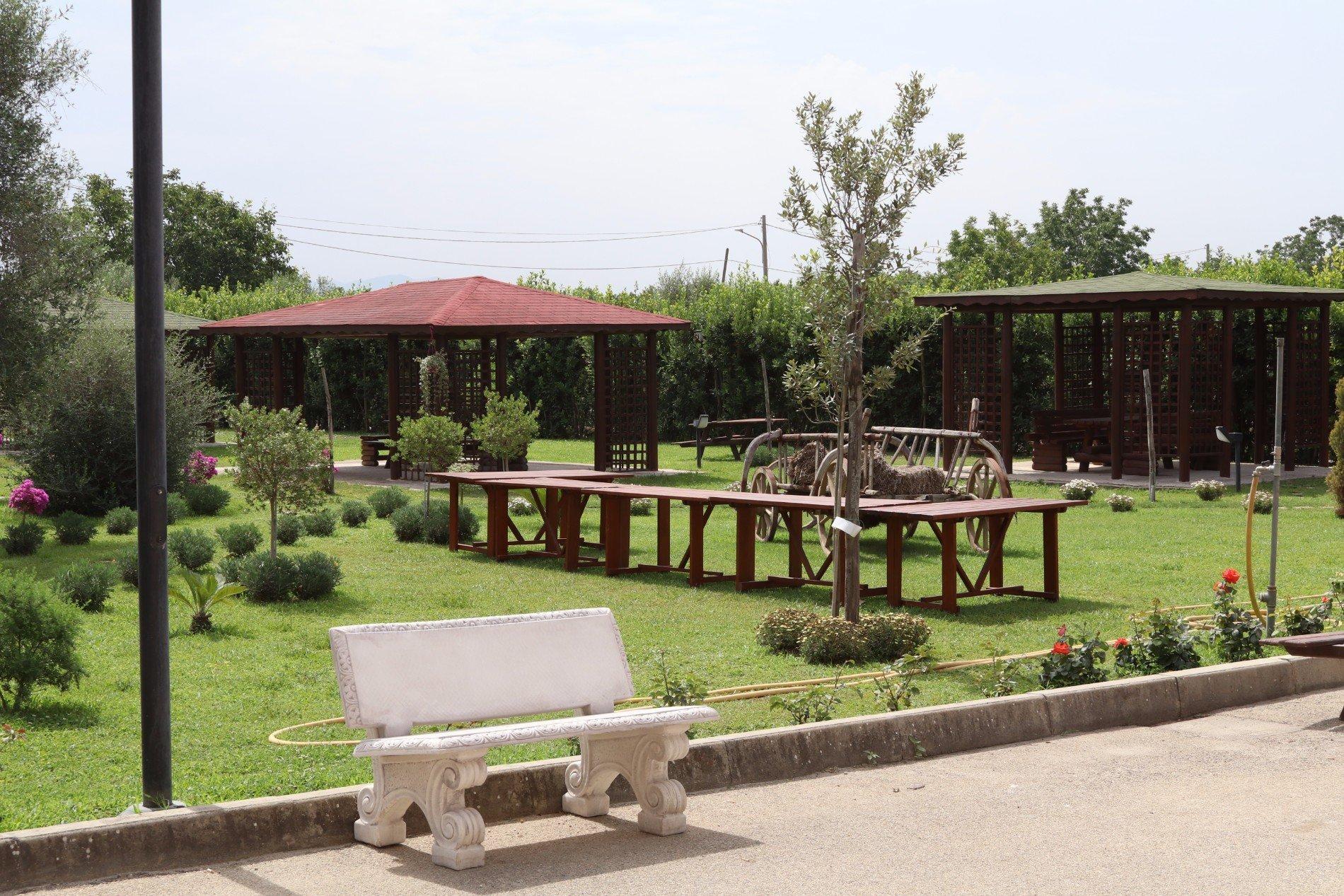 il giardino della tenuta