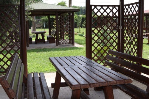 tavoli e panchine picnic