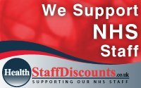 We Support NHS Staff Logo