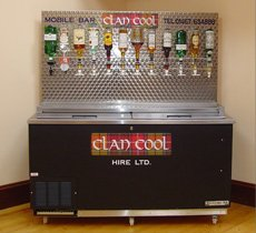 Chillers - Aberdeen - Clancool Refrigeration - Mobile Bar