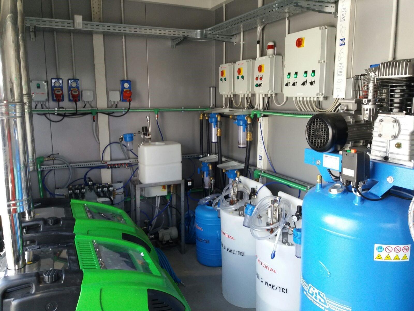 idropulitrici e impianti di lavaggio