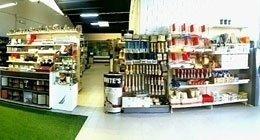 negozio di vernici