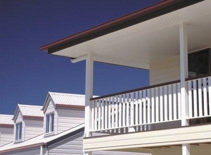 versatile building products james hardie eaves