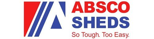 versatile building products absco sheds logo