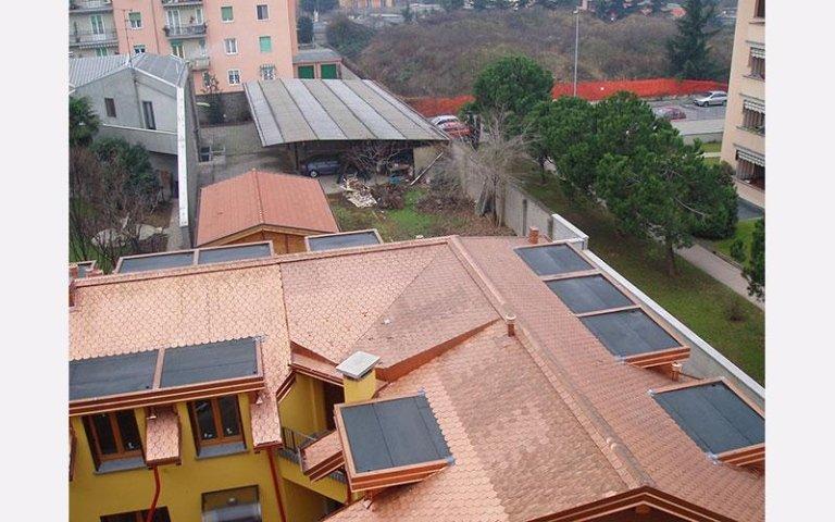 Rifacimento tetti e linee vita