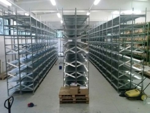 Pulizia capannoni