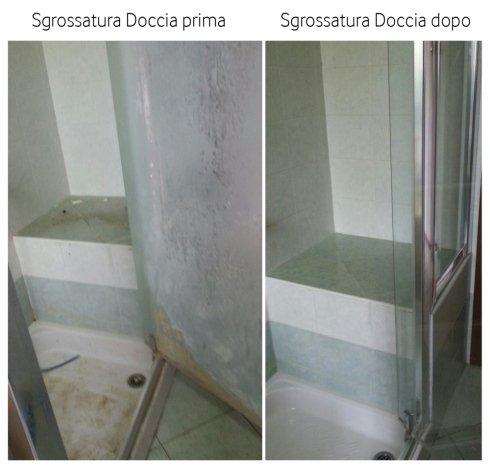 Sgrossatura doccia