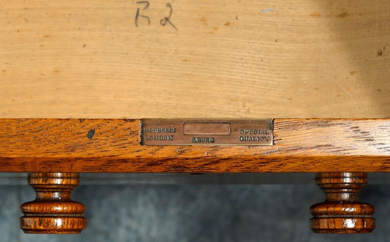 Lable on a furniture