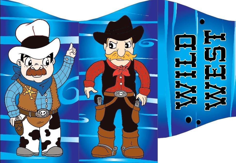 a cowboy animation
