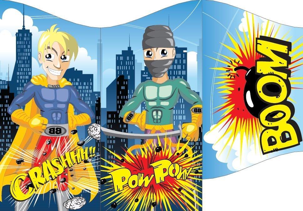 super heros animation