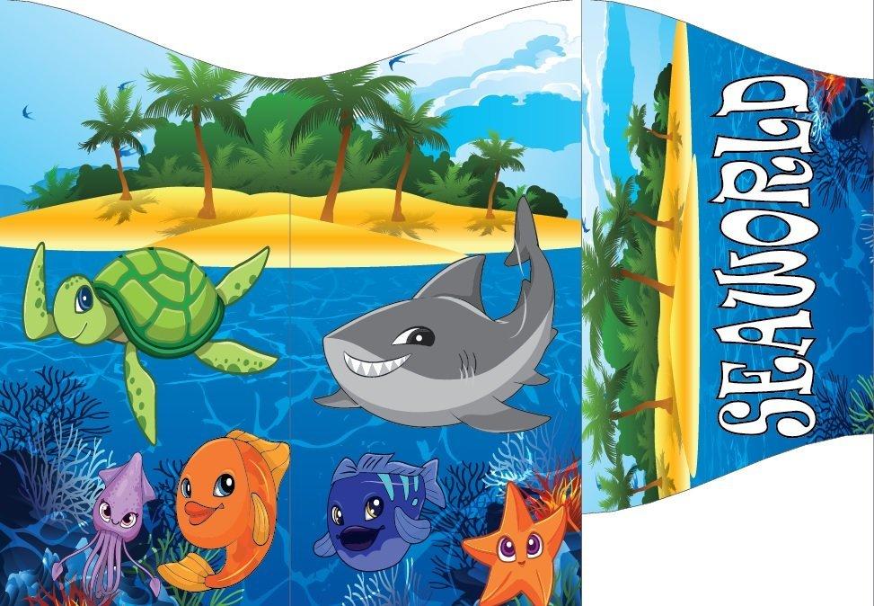 underwater living species animation