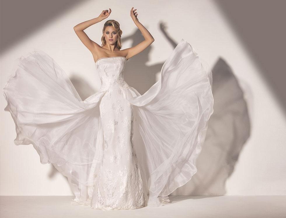 abito da sposa - collezione madreperla