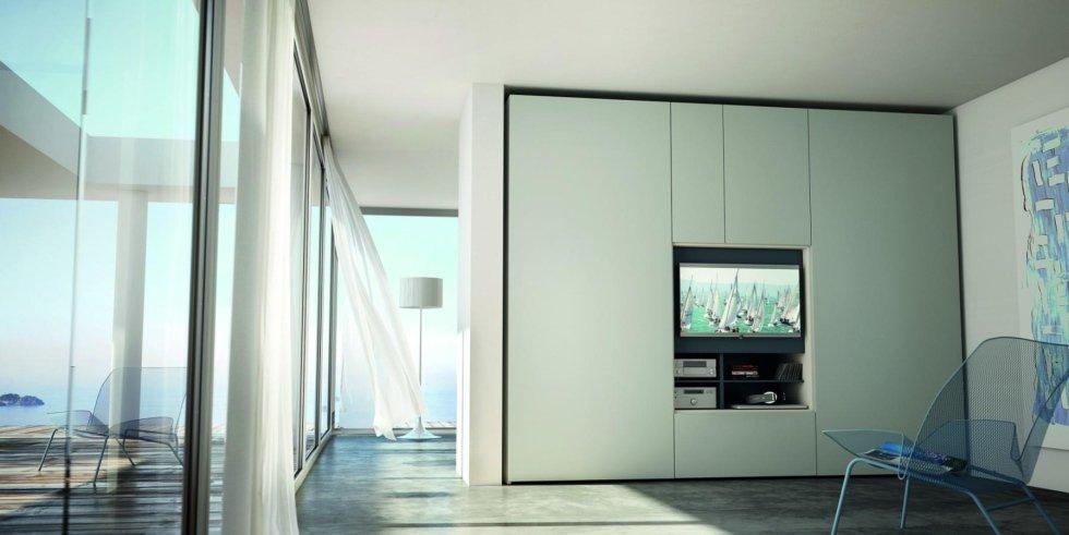 armadio con tv Flat Cavallero Genova