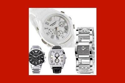 quattro orologi con casse di diverse forme