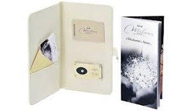 diamante certificato in blister marchio Miluna