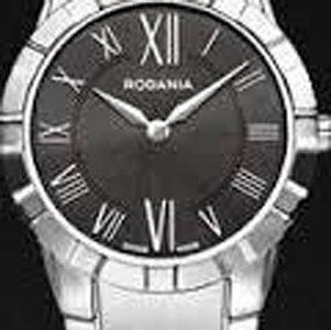 cassa di orologio Rodania con quadrante nero